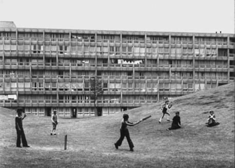 Do you remember playing on the estate as a child?
